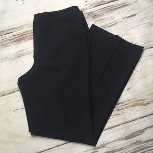 Lafayette 148 Pants Blue Flat Front High Waist 10